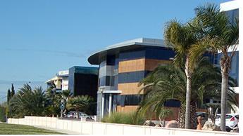 Бизнес-парк Эльче, расположенный на Средиземноморском побережье