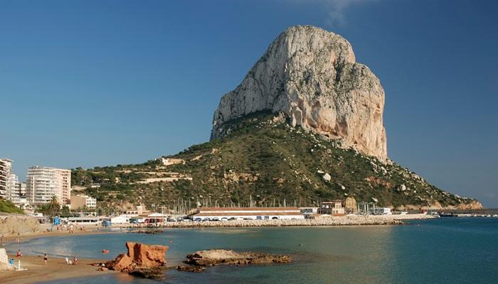 Costa de Alicante Peñón de Ifach