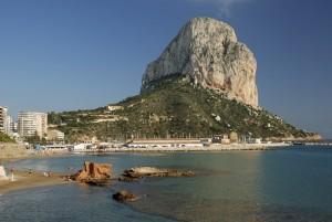 Famous Mediterranean Resort Calpe in Spain