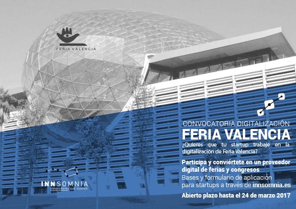 Convocatoria digitalización Feria Valencia