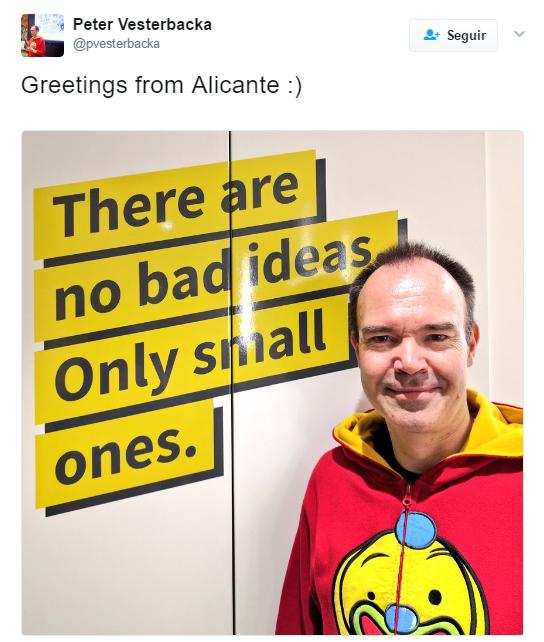 Peter Vesterbacka Alicante