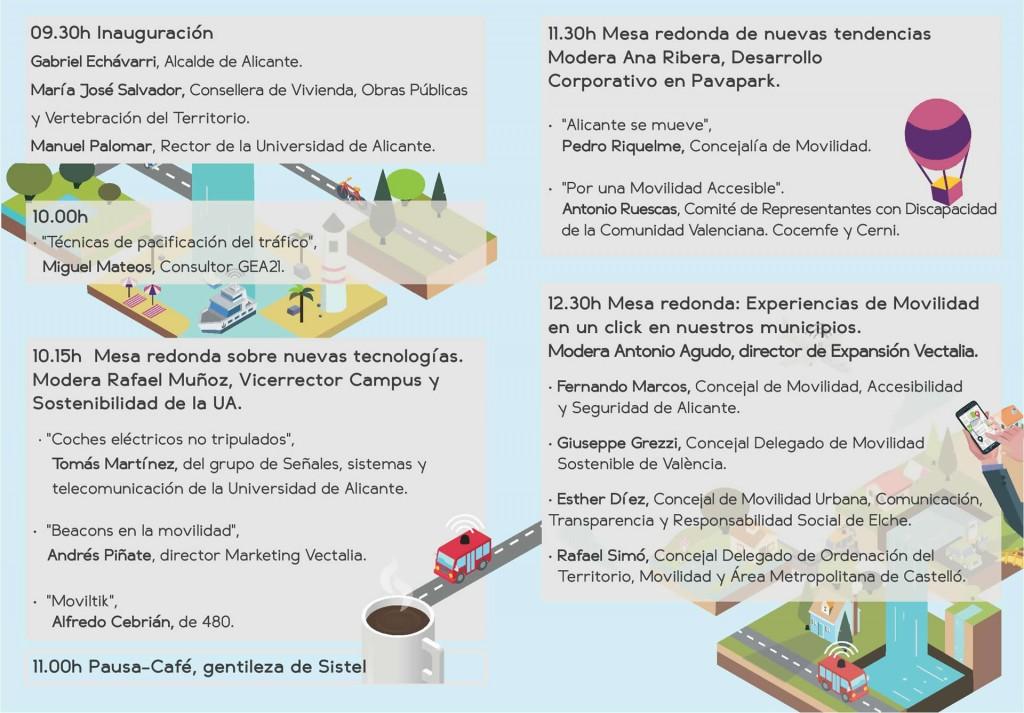Programa La Movilidad en un click Alicante