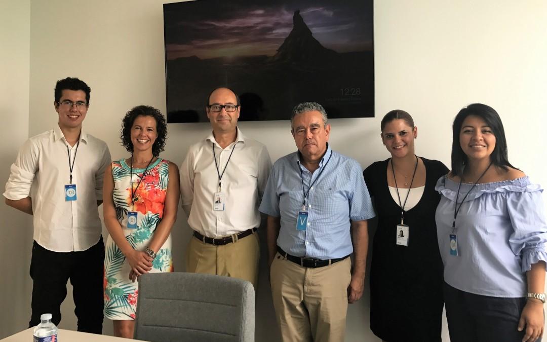 AlicanTEC visita la sede central de Sistel en Alicante
