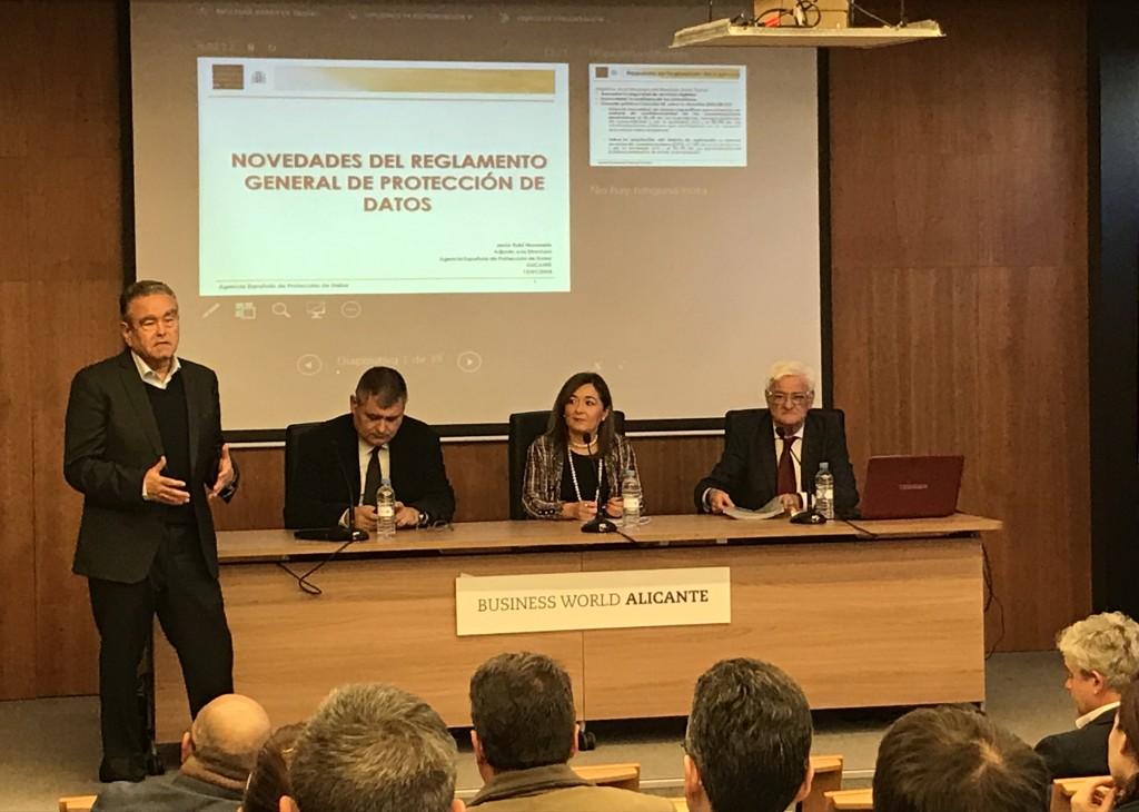 Presentación jornada LegalTEC por Andrés Pedreño