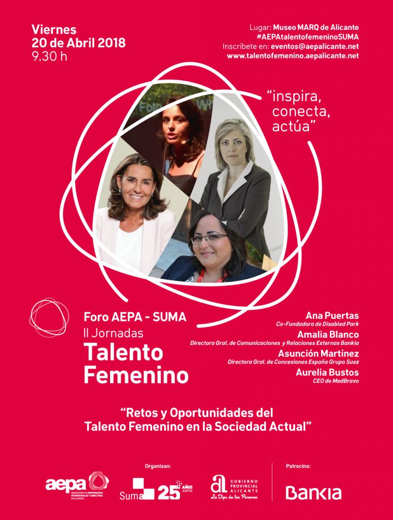 Jornadas Talento en Femenino Alicante