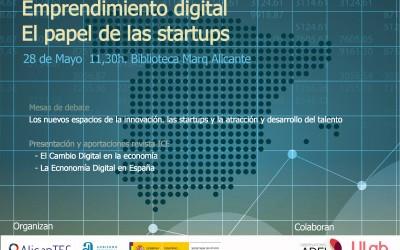 Jornada Emprendimiento Digital, el papel de las Startups