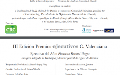 III Edición Premios Ejecutivos Comunidad Valenciana