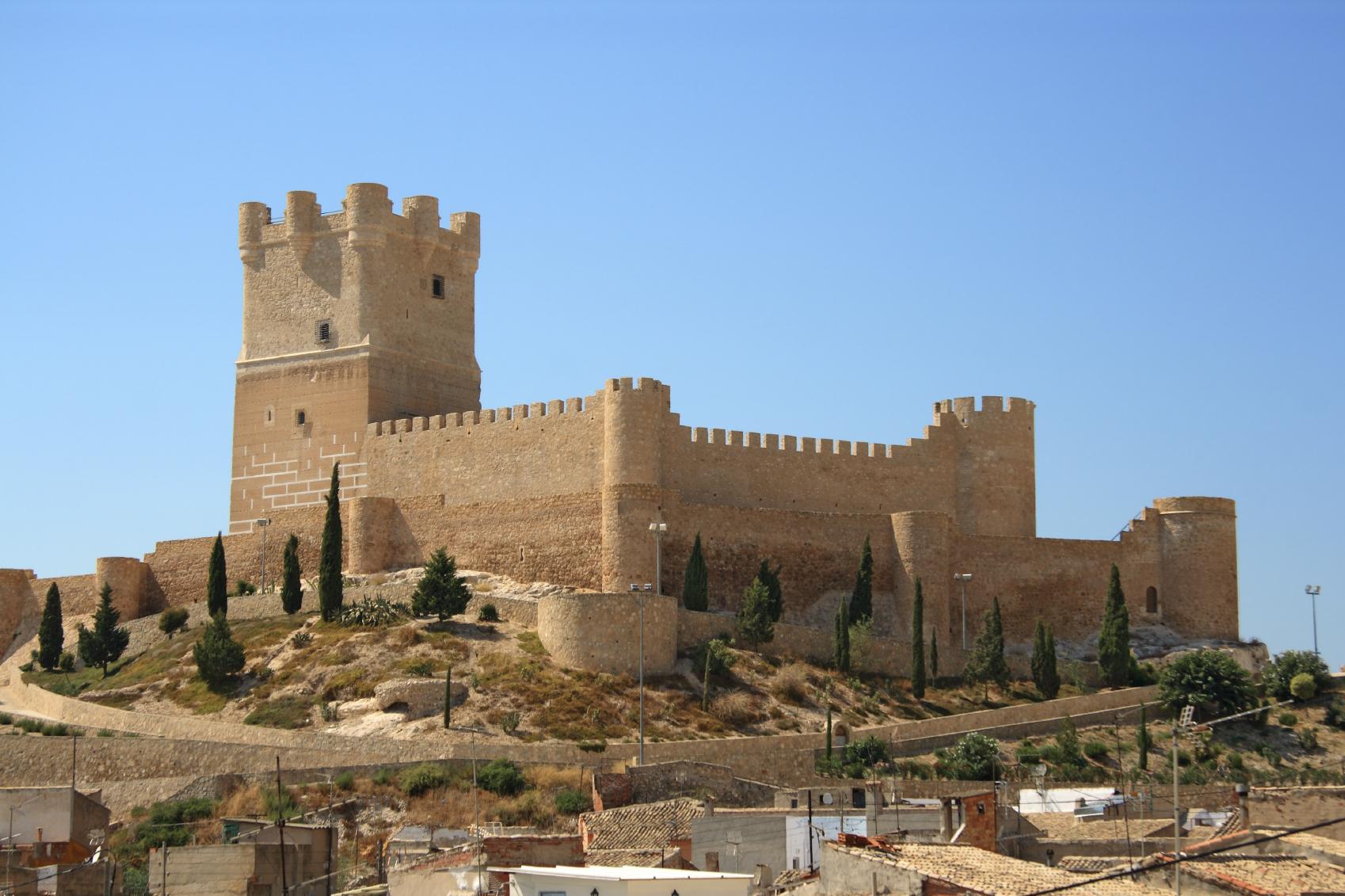 Castillo de Villena Alicante
