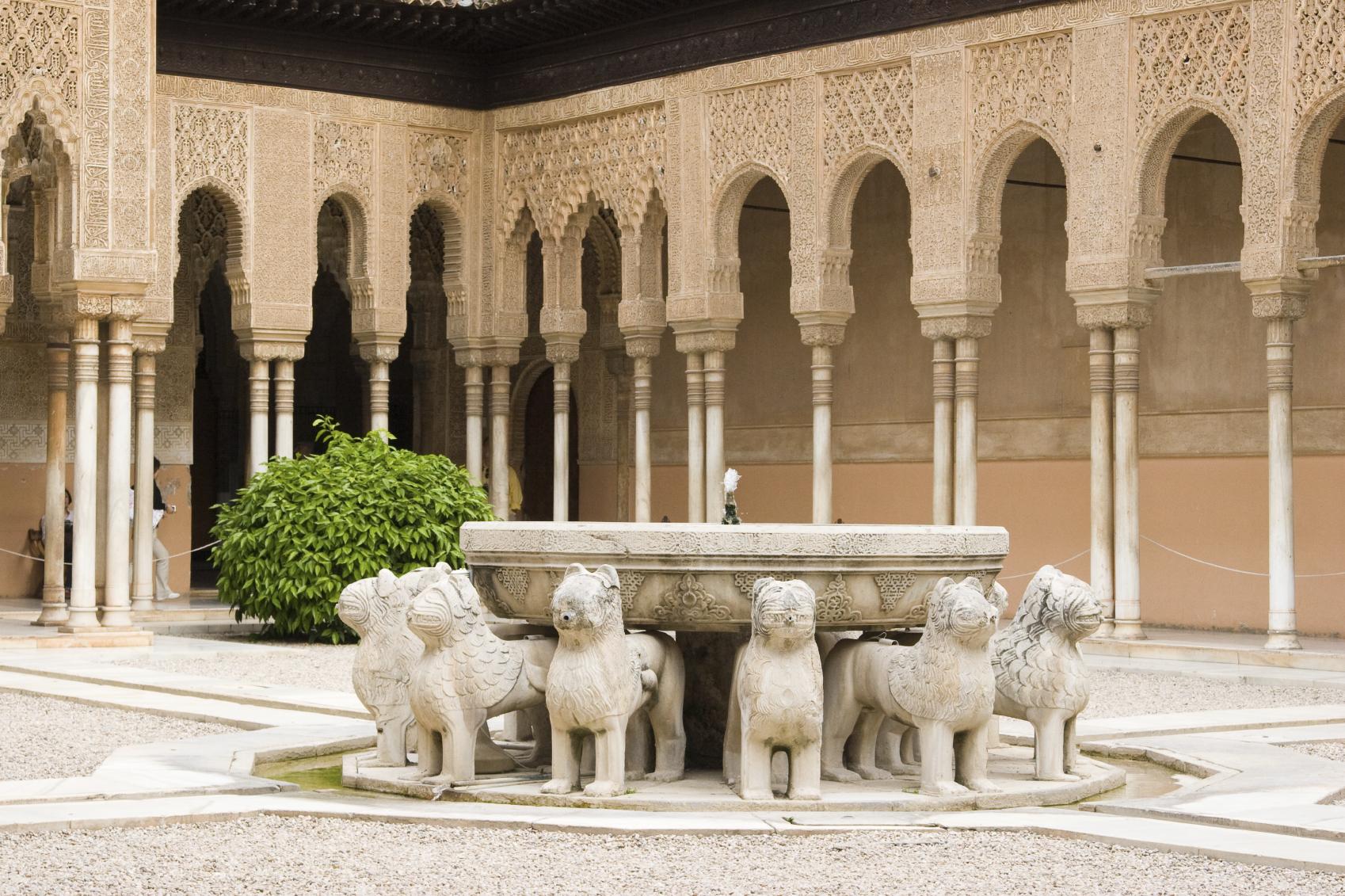 Granada, patio de los leones