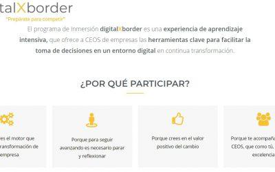 "Programa DigitalXborder en Alicante, dirigido a CEOs. ""Prepárate para competir"""