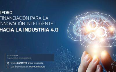 II Foro para la Innovación Inteligente: hacia la Industria 4.0