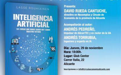 Presentación del libro Inteligencia Artificial, 101 cosas que debes saber hoy sobre nuestro futuro