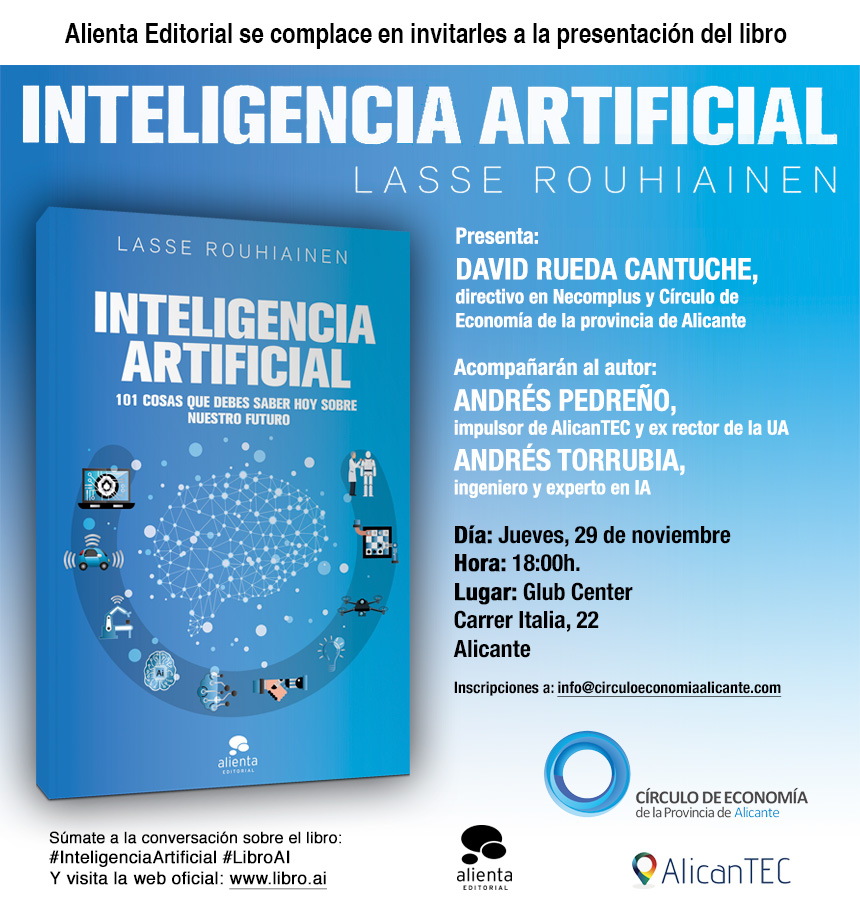 Libro Inteligencia Artificial Lasse Rouihiainen