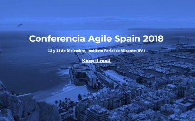 Conferencia Agile Spain 2018 en Alicante