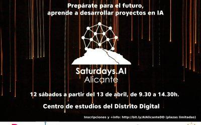 AlicanTEC colabora con la I edición de Saturdays AI en Alicante