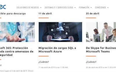 Abril: sesiones formativas gratuitas en Bitec