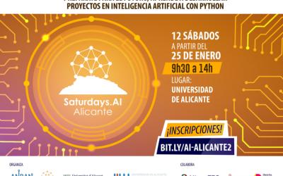 AlicanTEC colabora en la II Edición del AI Saturday Alicante