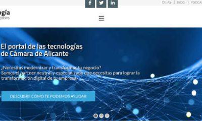 AlicanTEC colabora con la iniciativa de la Cámara de Alicante ticnegocios