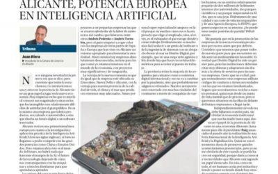 Alicante, potencia europea en inteligencia artificial