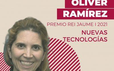 Nuria Oliver Premio Rei Jaume I de Nuevas Tecnologías 2021