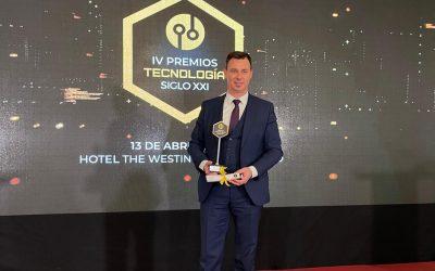 Verne Group Empresa del Año en los Premios Nacionales Tecnología Siglo XXI