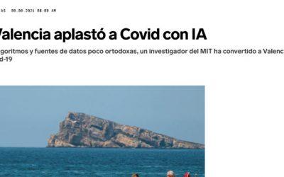Wired: Cómo Valencia aplastó a Covid con IA