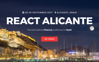 (Español) React Alicante, la conferencia internacional sobre React y React Native