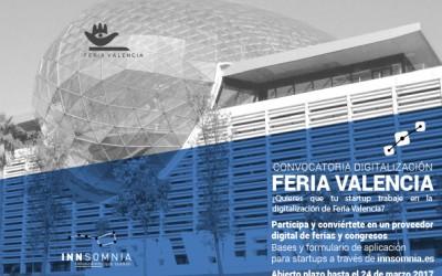 Convocatoria startups para digitalizar Feria Valencia