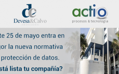 (Español) Jornada en Alicante sobre la nueva normativa de protección de datos